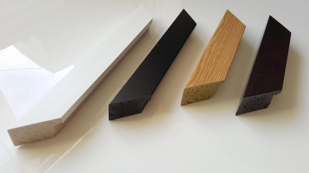 Wood efffect frames