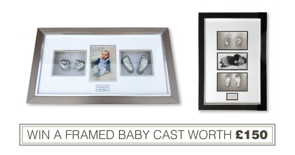 Baby Prints and Castings Framed Baby Cast Competition May 2016