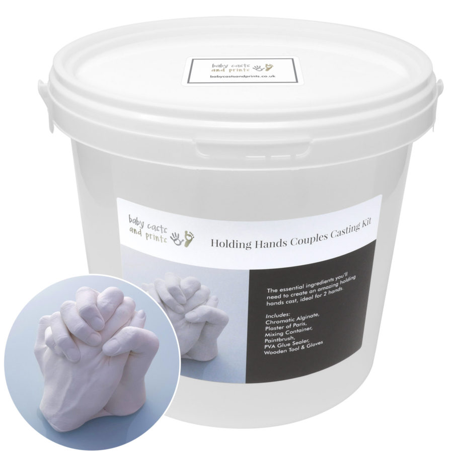 Holding hands casting kits | Cast kit for babies, toddlers and adult hands