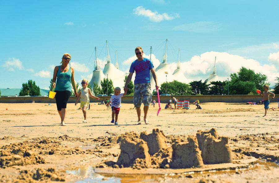 Butlins family holiday