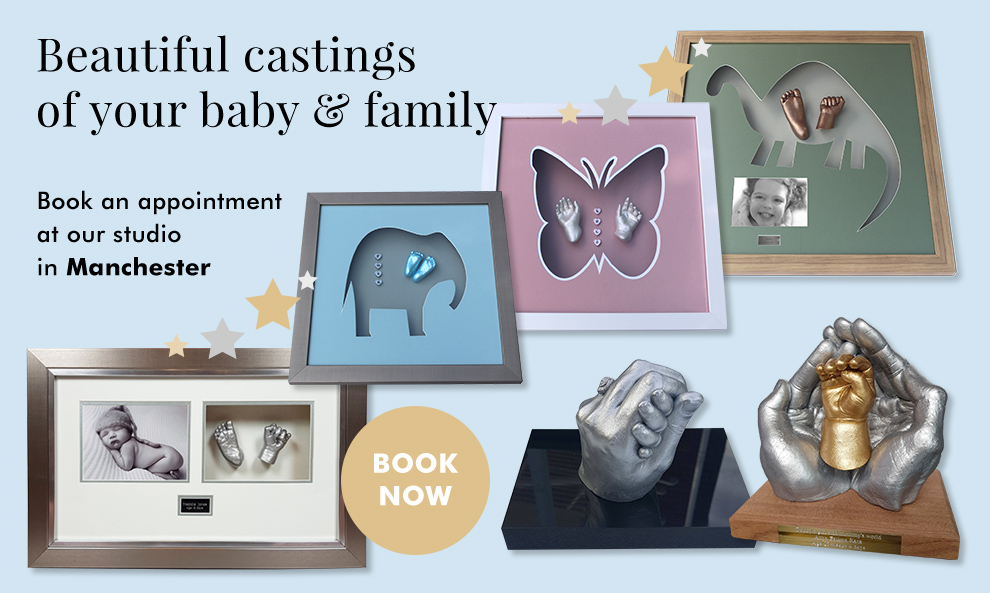 Beautiful castings of your baby & family