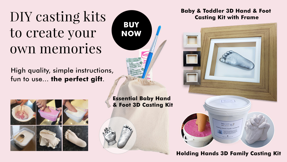 DIY casting kits to create your own memories