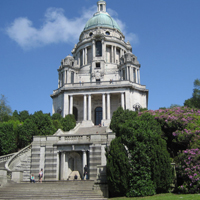 Ashton Memorial at Williamson Park in Lancaster