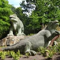 Dinosaur Court in Crystal Palace Park