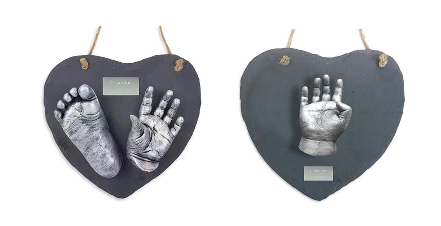 hanging heart slate cast