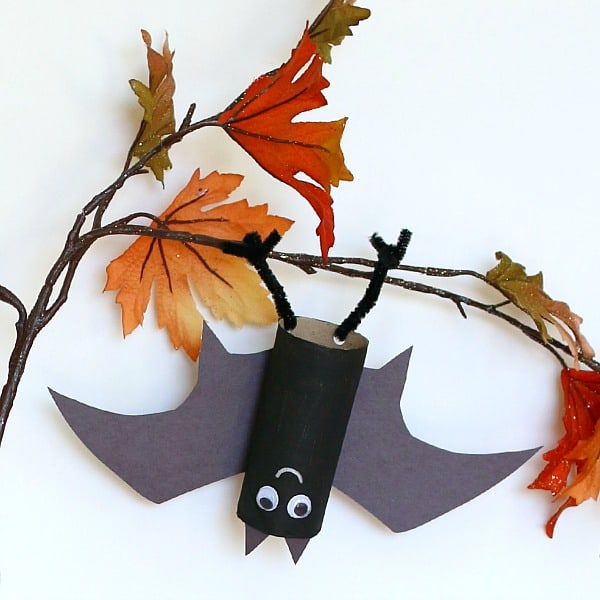 Halloween Crafts Hanging Bat