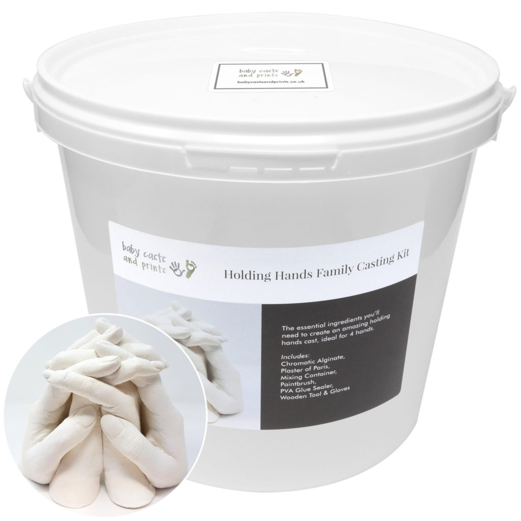 Holding Hands Family XL Casting Kit