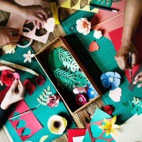Arts & Crafts - baby hand casting