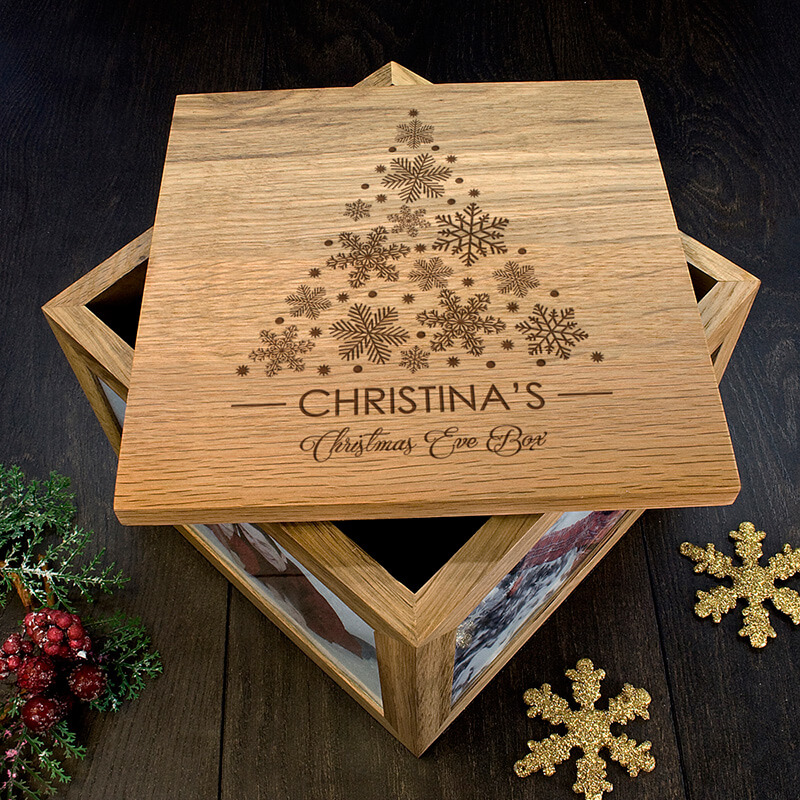 christmas keepsake box for babies personalised